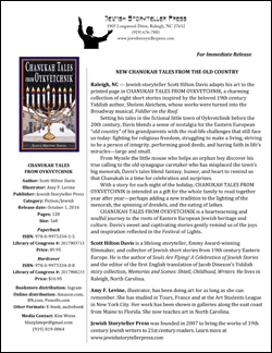 Chanukah Tales from Oykvetchnik One-Pager