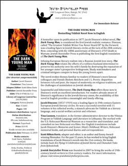 Press Release for The Dark Young Man