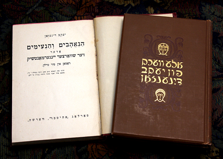 Photo of The Dark Young Man in Yiddish
