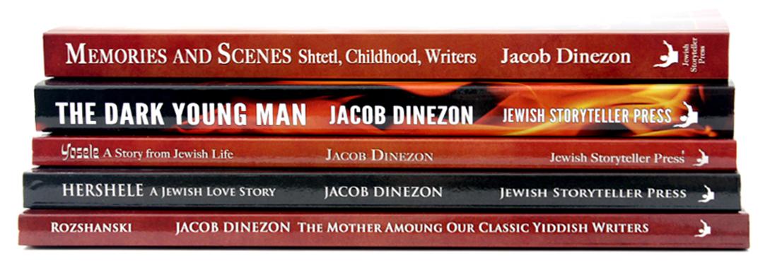 Jewish Storyteller Press Books by Jacob Dinezon