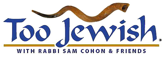Too Jewish Radio Show Logo